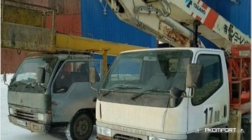 Автовышка 17м с гуськом в аренду в Перми
