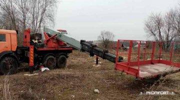 Аренда. КамАЗ вездеход 37 метров в аренду в Перми